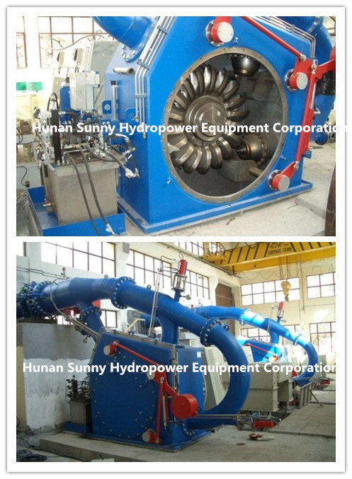 Hydro (Water) Pelton Turbine-Generator/Hydropower Generator/ Hydroturbine