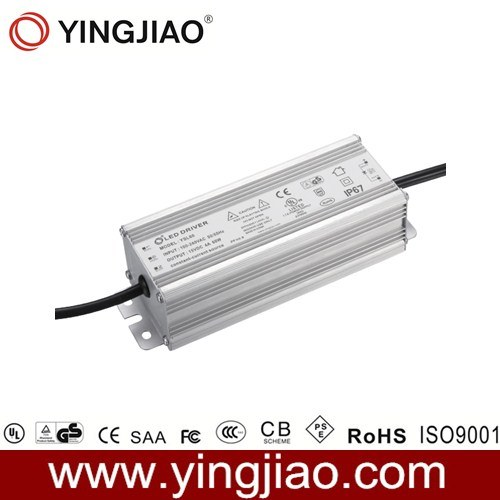 60W Waterproof LED Driver with GS UL TUV