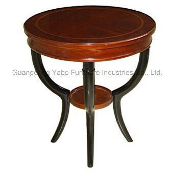 Round Coffee Table Wooden Table Living Room Furniture