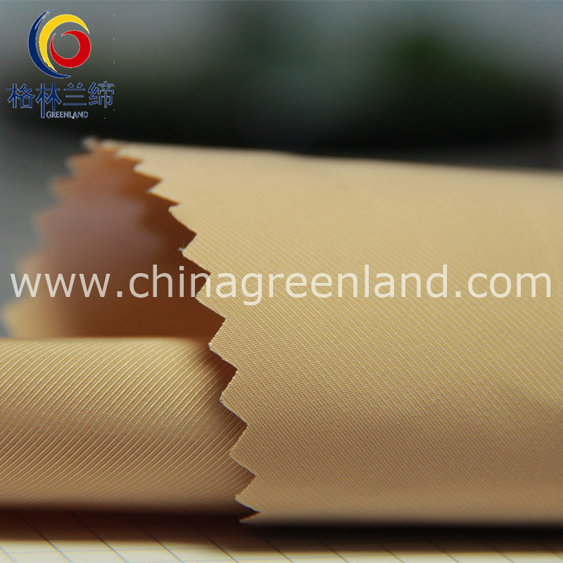 100%Polyester 75D Memory Twill Fabric for Garment Textile (GLLML207)