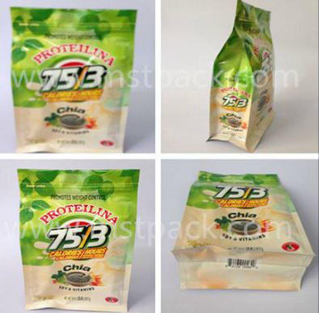 Side Gusset Flat Bottom Gusset Bag/ Tea Packaging