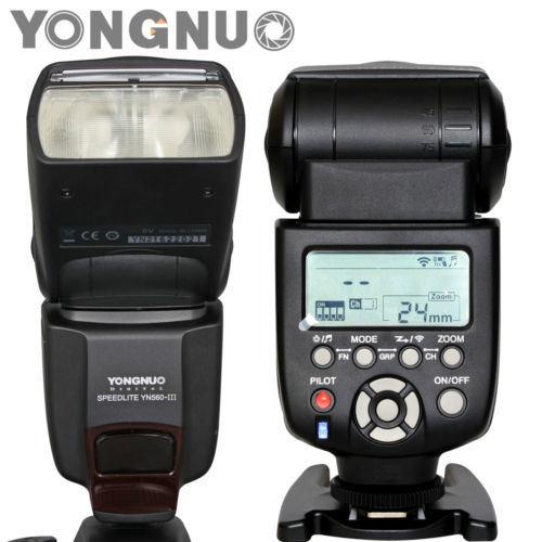 Yongnuo Yn560 III Flash Speedlight Camera Flash for Canon Nikon Pentax Olympus
