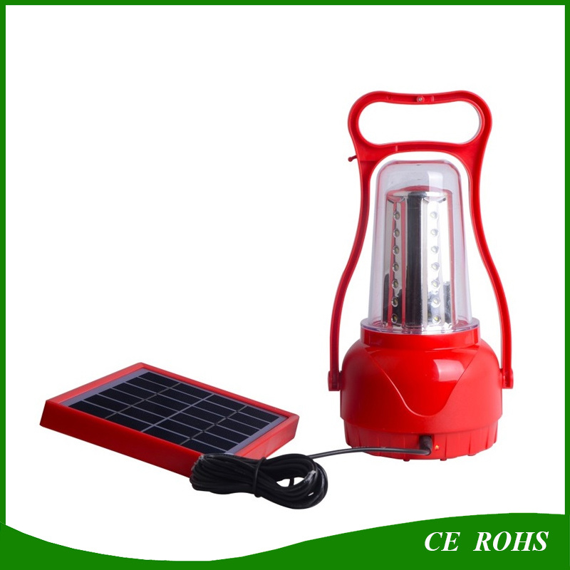 35 LED Rechargeable Solar Camping Lantern Emergency Light Tent Light - Portable Waterproof Camping Light for Hiking Emergencies Hurricane Outages