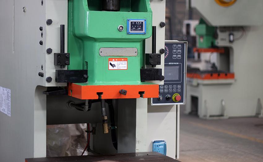 C Frame Pneumatic Power Press (punching machine) , Jh21-125ton