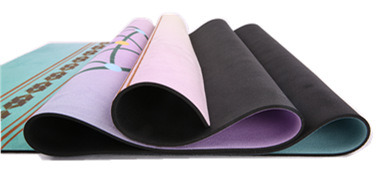 Dreamcatcher Design Print Exercise Bikram Pilates Yoga Mat with Carrying Strap