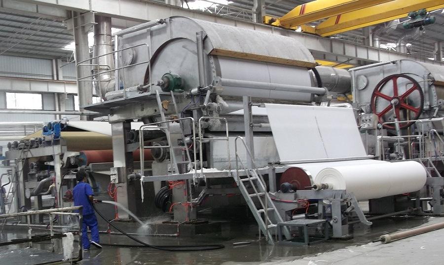 Single Cylinder Tissue Machine Toilet Paper Machine