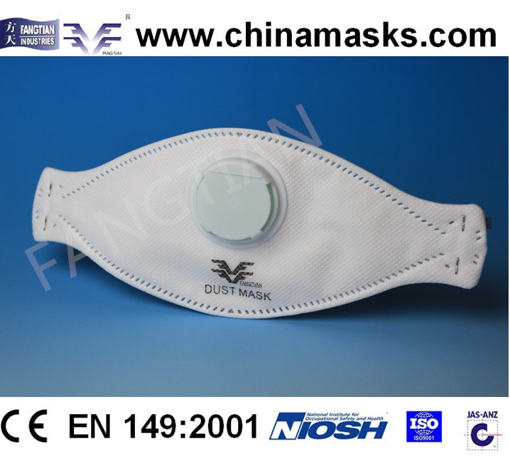 Protective Nonwoven CE Dust / Face Mask with Valve