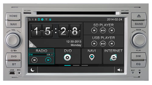 Witson Special Car DVD Player GPS for Ford Focus 2005-2007 (W2-D8488FB)