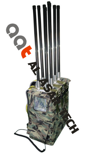 Man Pack Portable Bomb Jammer Prevent Remote