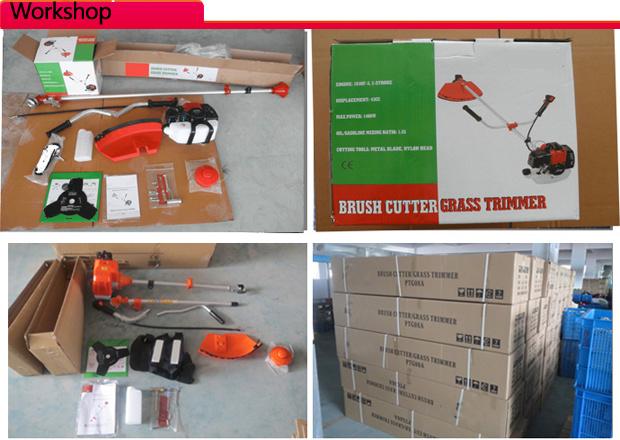 Powertec 43cc 1800W Gasoline Garden Brush Cutter (PT-BC370)