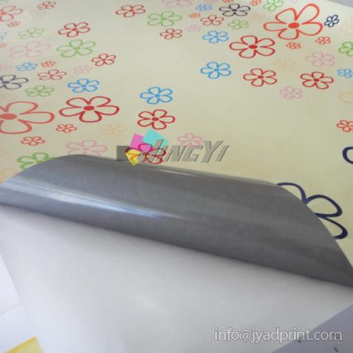 Gray Self-Adhesive 3m PVC Vinyl Sticker Full Color Digital Printing