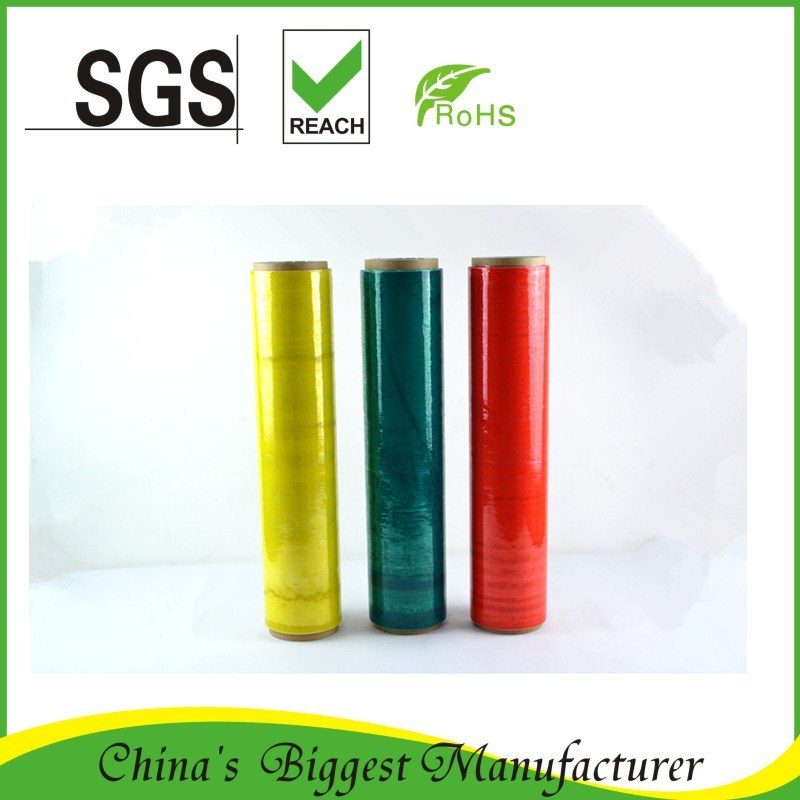 Colorful Plastic PE Stretch Film
