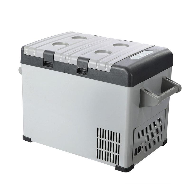 32L DC 12/24V Mini Portable Refrigerator with AC Adaptor for Car