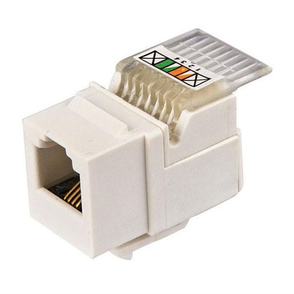Ampbrand CAT6 RJ45 90 Degree 8p8c Tooless Keystone Jack
