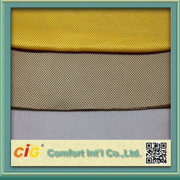Dri Fit Sandwich Mesh Netting Fabric for Seat Cover