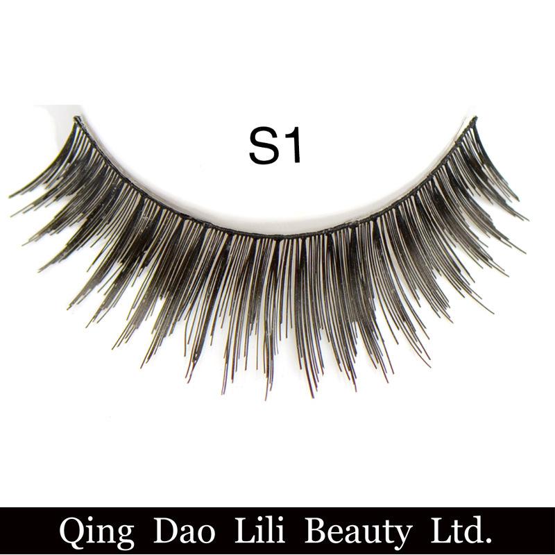 Fashion 3D Synthetic Hair False Eyelashes Factory Price