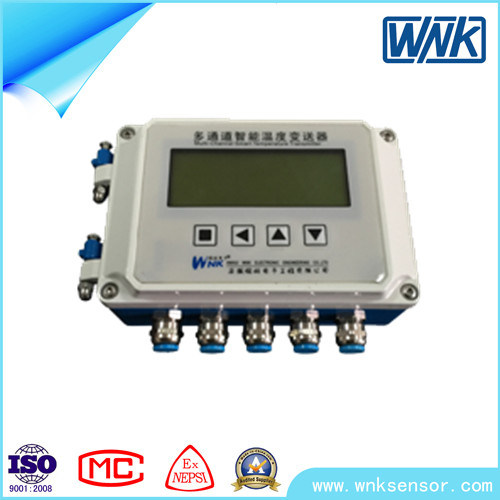 4-20mA, Profibus-Dp High Accuracy Multi-Channel Temperature Transmitter