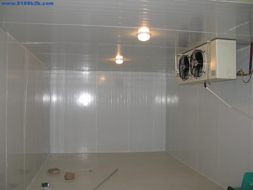 Cold Storage Room B1 Level Fireproofed