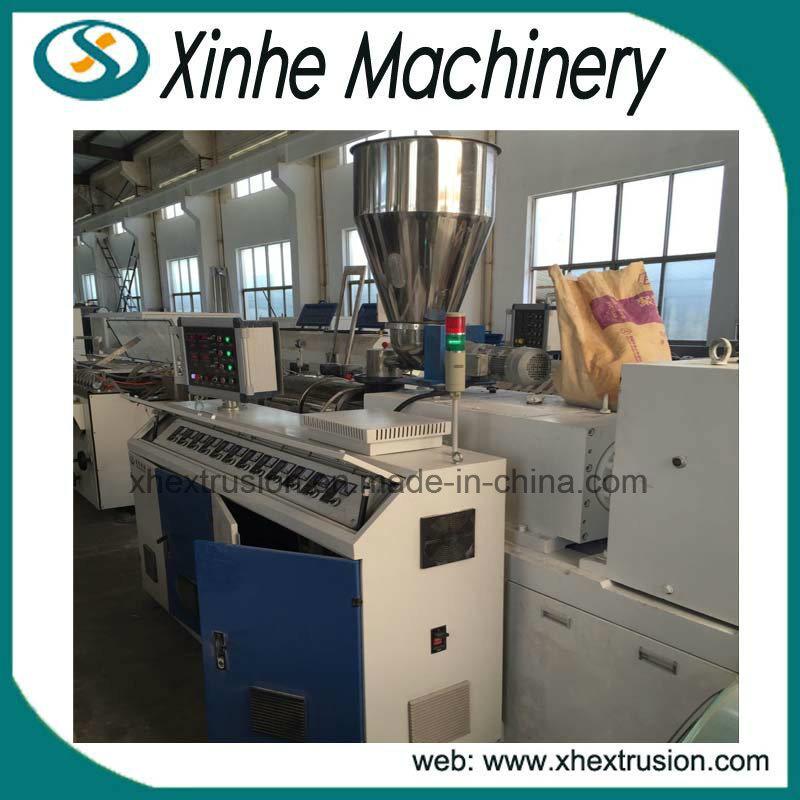 Large Capacity Plastic PVC Wood Profile Extrusion Making Machine Line