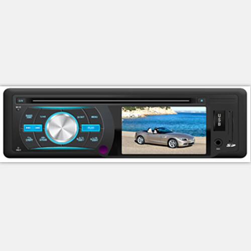 Car DVD Player with 3.0 Inch TFT LCD Monitor One-DIN
