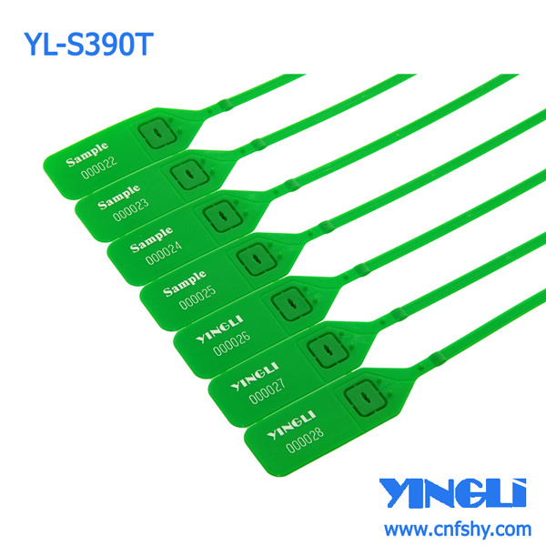 Disposable Adjustable with Metal Insert Security Plastic Seal (YL-S390T)