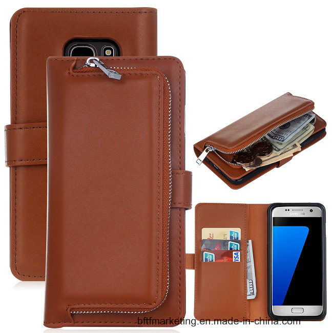 Wallet Leather Mobile Cell Phone Case for Samsung