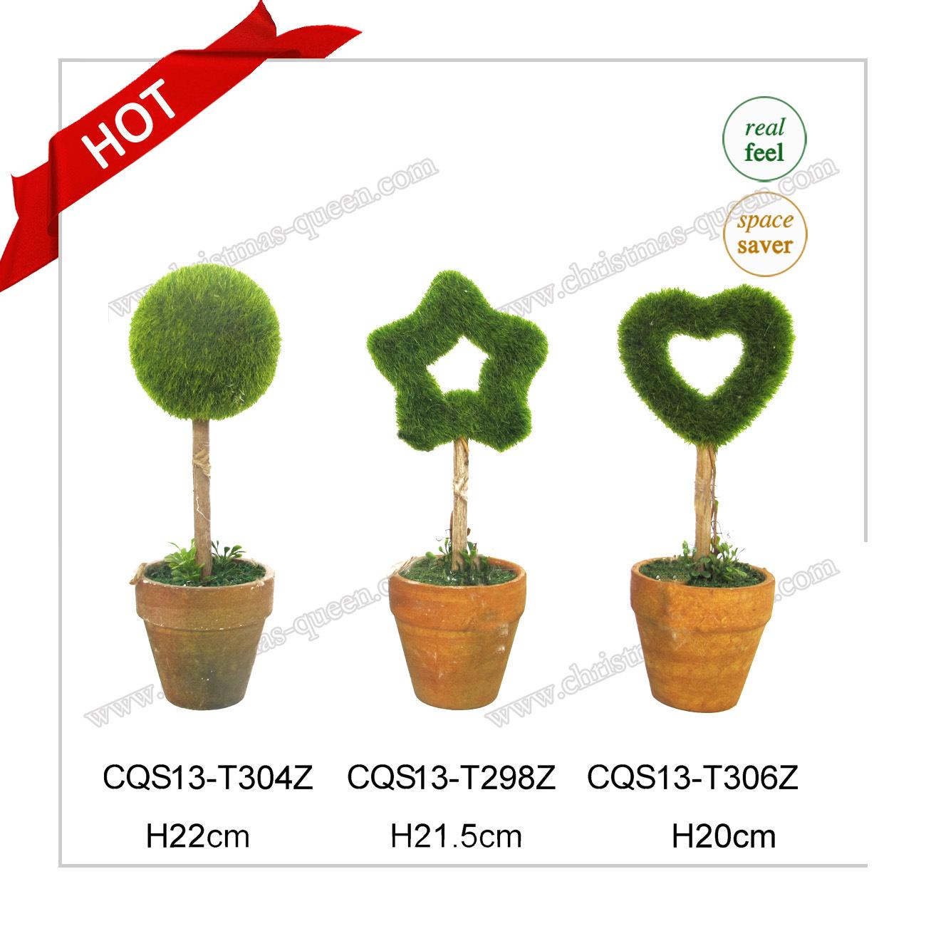 10-18cm Plastic Small Plant Pots Artificial Bonsai