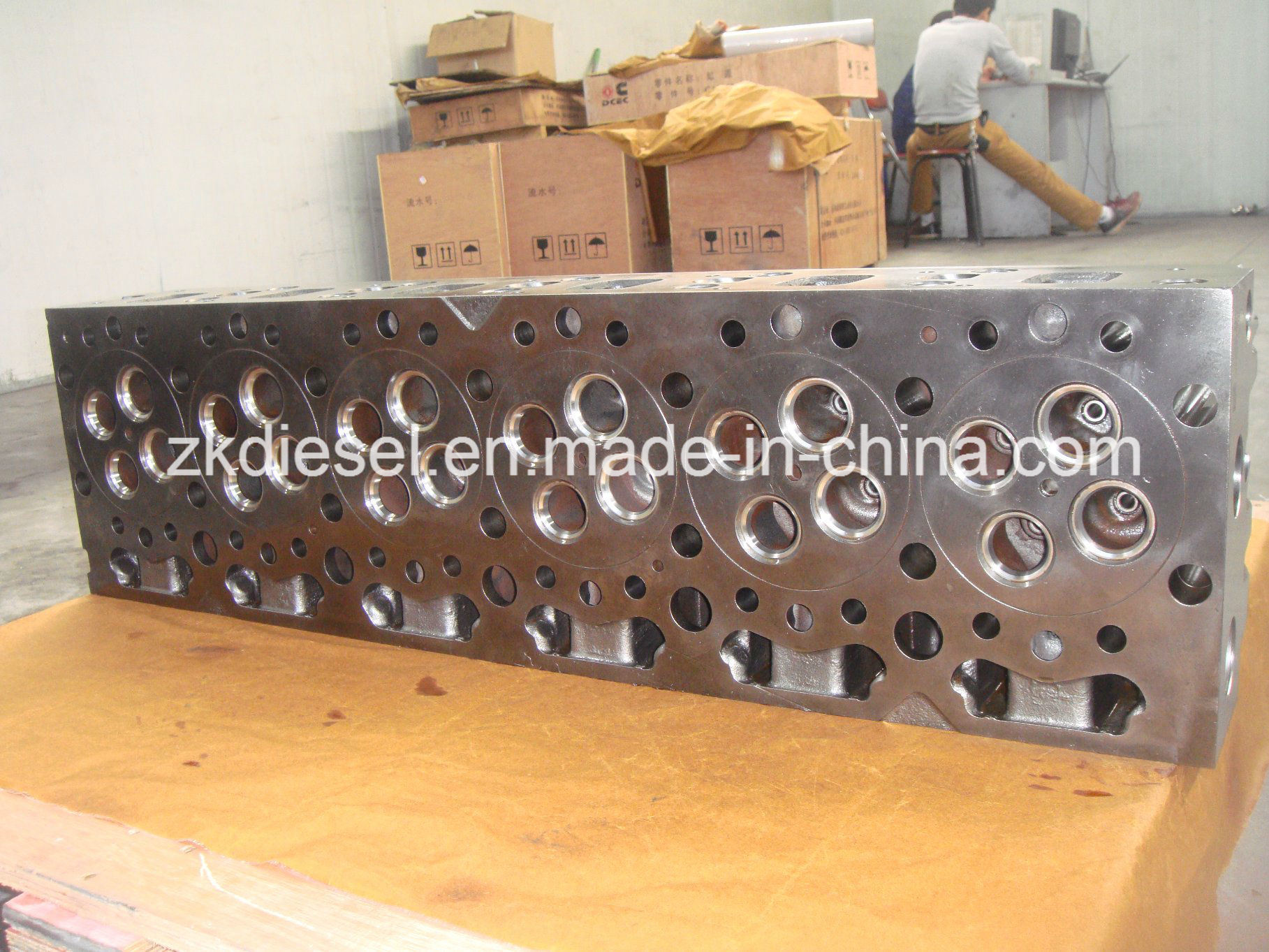 China Supplier for Dongfeng Renault Engine Dci11 Cylinder Head D5010550544/D5010222989/D5010222980
