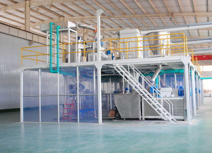 A1020006m Exterior Electrostatic Epoxy Polyester Superdurable Spray Meatllic Powder Coating