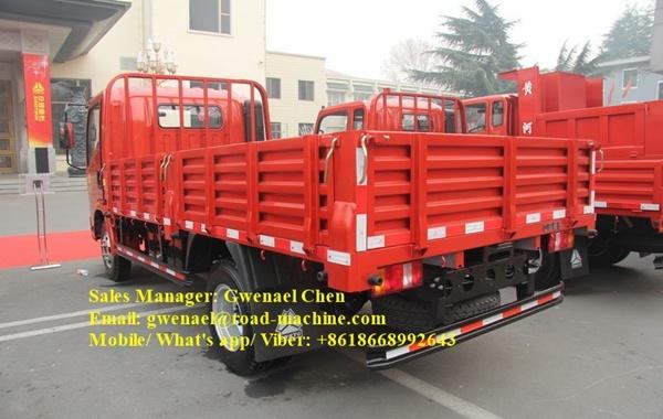 Sinotruk HOWO 4 Ton Small Light Truck with Isuzu Engine Rhd/LHD