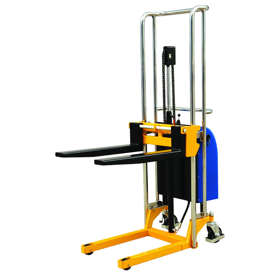 China Electric Hydraulic Fork Lift Type Forklift Half