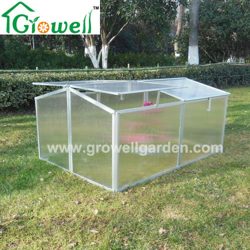 Cold Frame Mini Greenhouse for Young Plants Growing (F342)