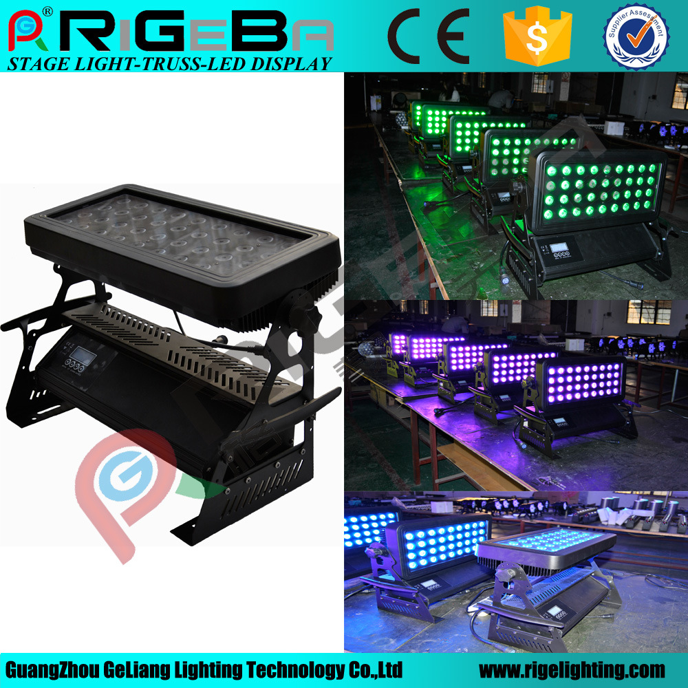 High Power City Color LED Wall Washer Stage Upfloor Light