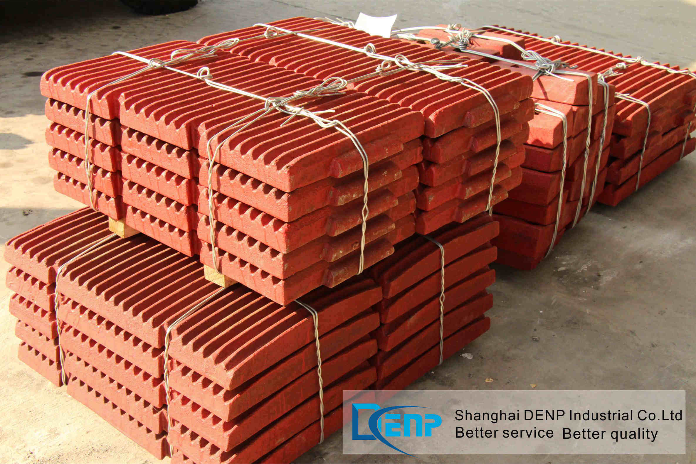 Jaw Crusher Plate/Fixed Jaw Plate/Swing Jaw Plate/Mn13cr2 Jaw Plate/Jaw Plate
