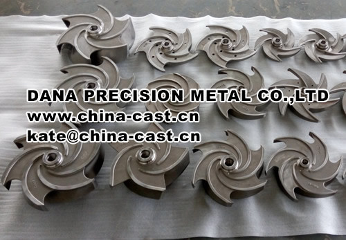 Steel Investment Casting Parts by Silicon Casting