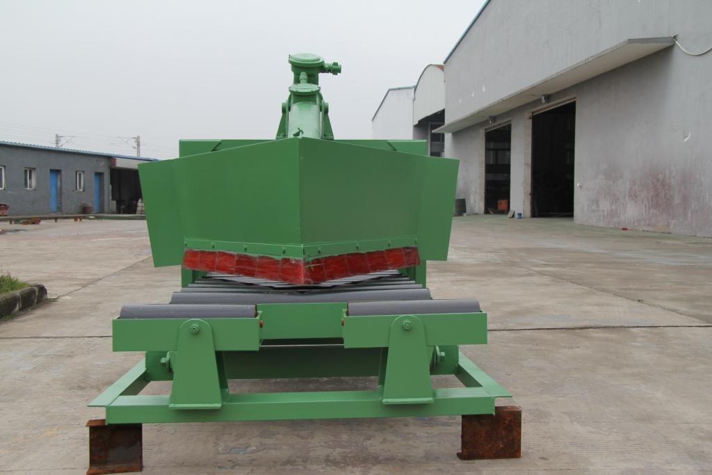 Two Sides Conveyor Plough Tripper with Unloading Roller