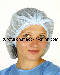 Medical Cap/Surgical Cap/Mob Cap/Non Woven Mob Cap