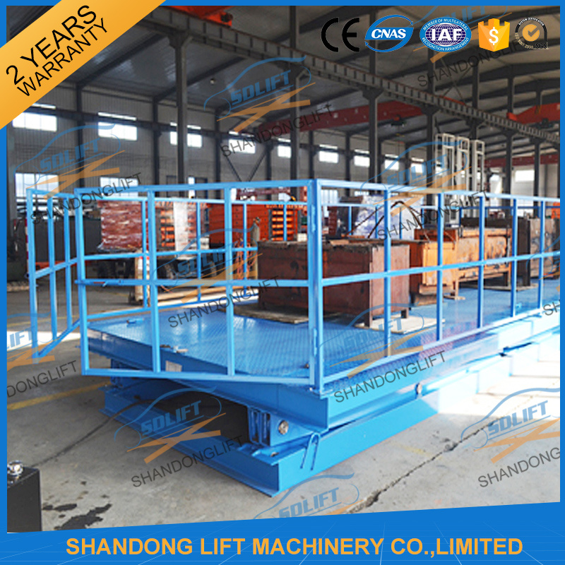 Heavy Duty Hydraulic Large Platform Scissor Car Lift for Sale
