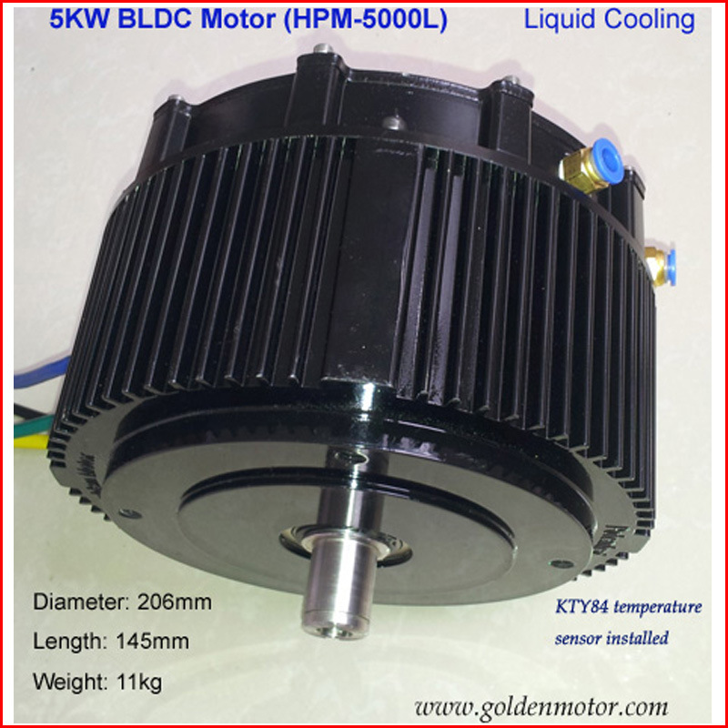 BLDC Motor (48V5000W) for Car, Boat, Brushless Motor