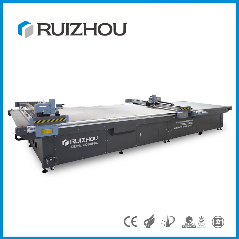 Automatic Feeding CNC Leather Cutting Machine with Conveyor Belt