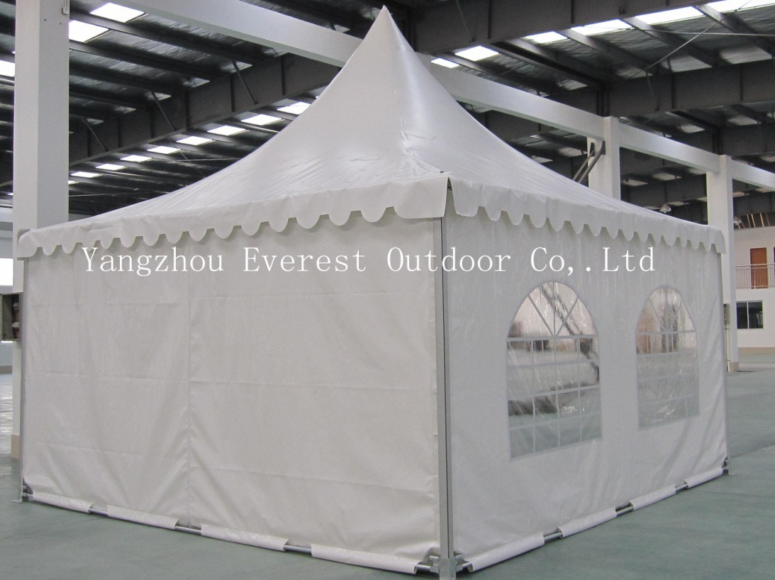 5X5m PVC Hi-Peak Frame Tent for New Year