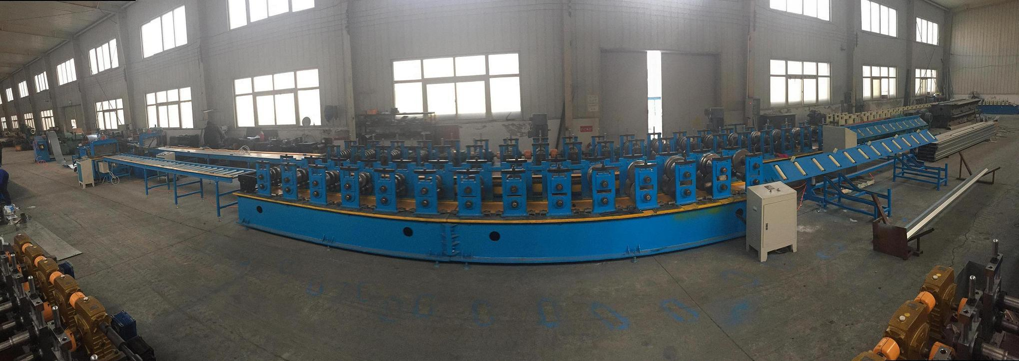 High Quality Automatic Omega Roll Forming Machine for Greenhouse