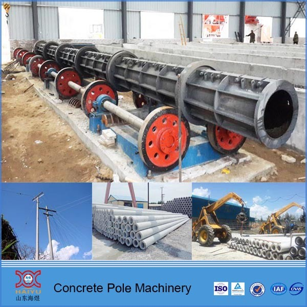 Iran Standard Concrete Electric Pole Machine