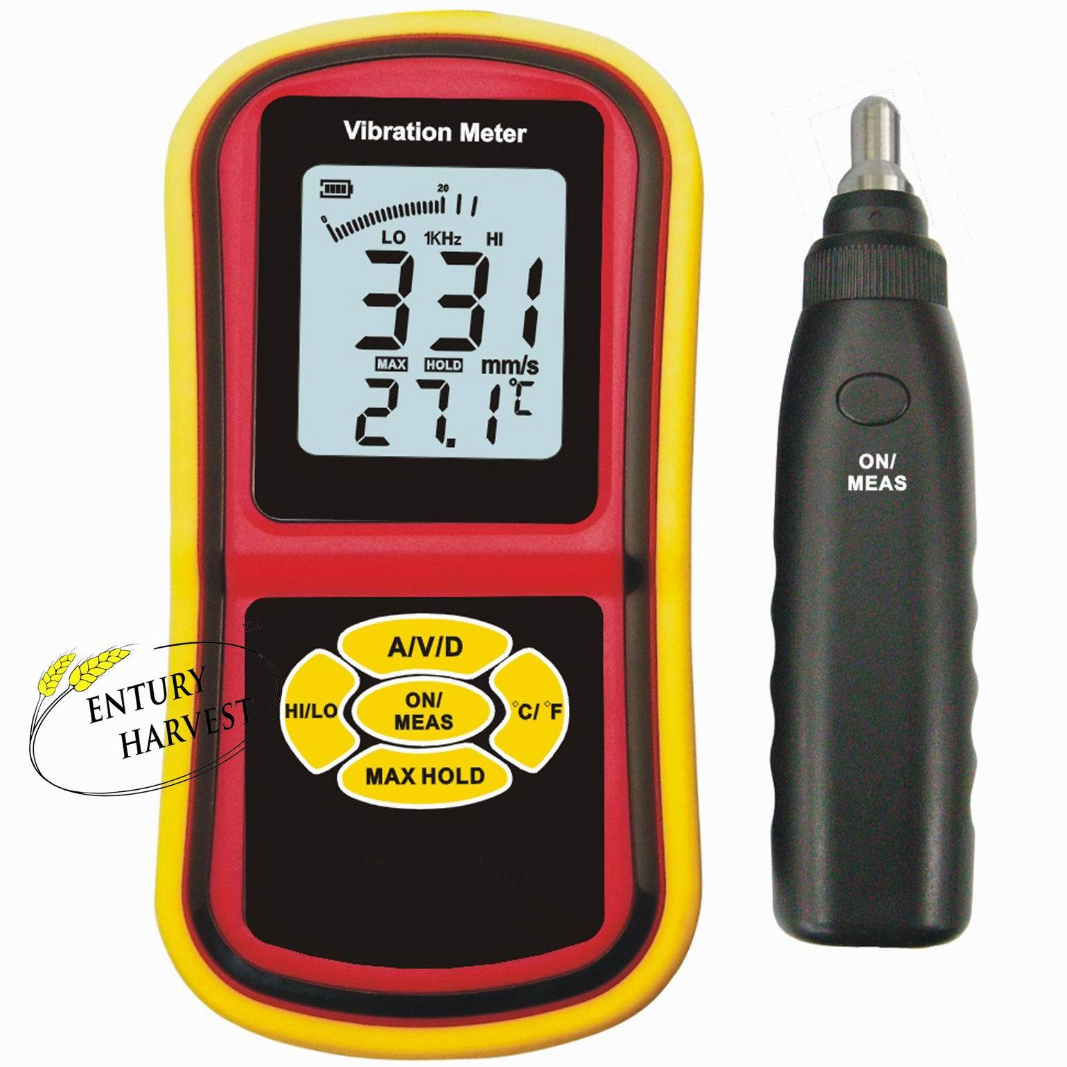China Vibration Read Frequency Meter (S-VM76)