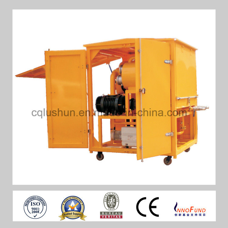 ZJA-200 Transformer Oil Filtration Machine, Insulating Oil Treatment Plant, Waste Transformer Oil Purifier for Sale