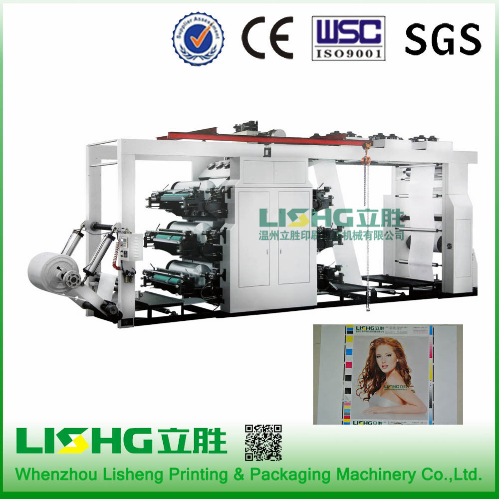 6color High Speed Paper Flexo Printing Machine Factory Price