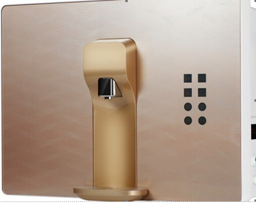 50gpd RO Water Purifier with Hot Water and Finger Touch Screen-16b