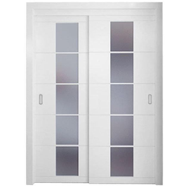 White Interior Door with Sliding Doors From 2013 Oppein New Design ...