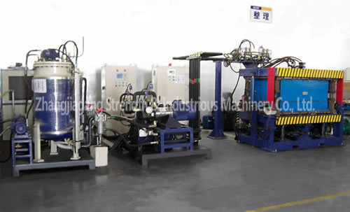 Automatic PU Automobile Acoustic Cushion Foaming Machine Hpm50/20 -Mh200/150