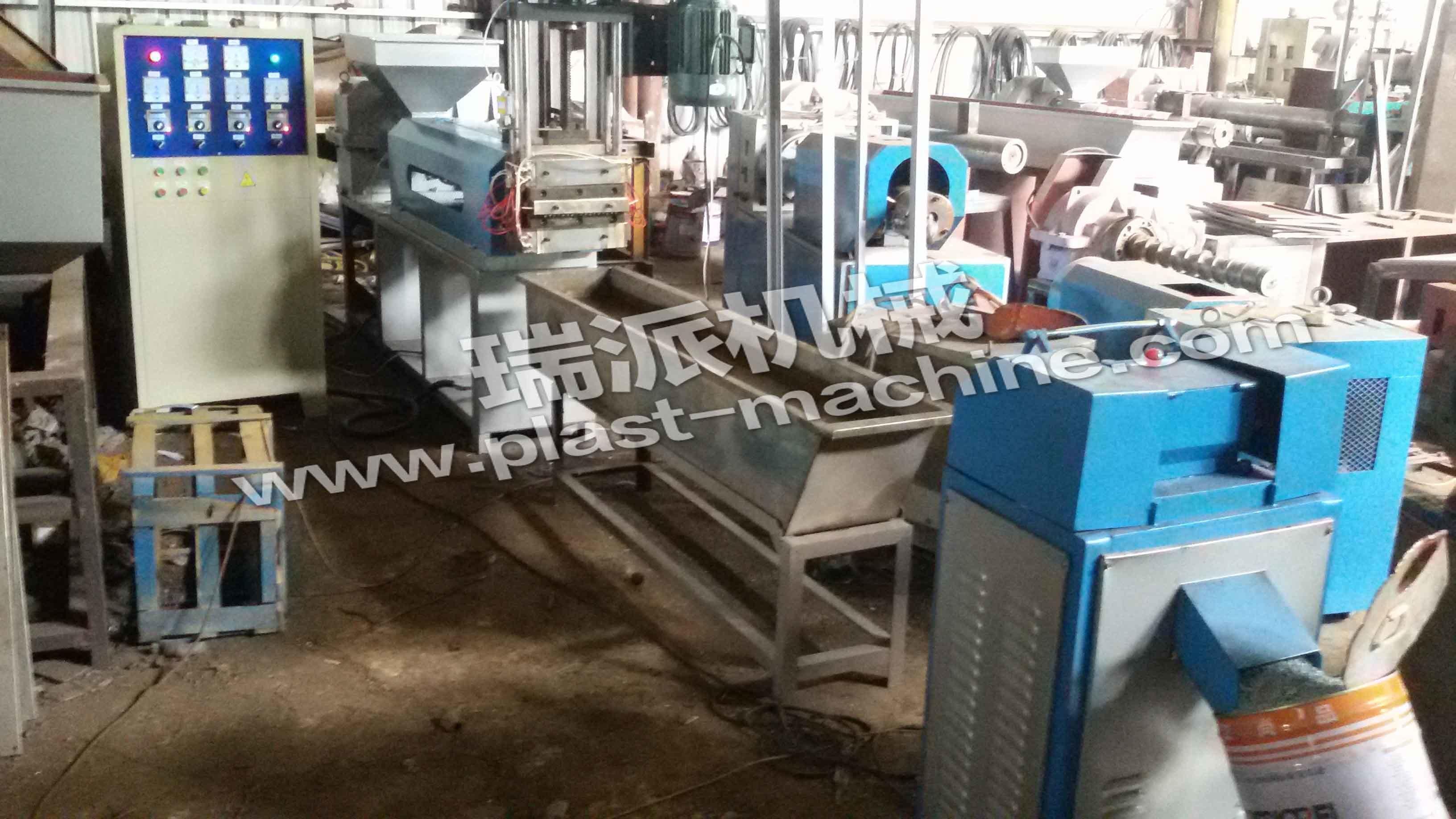 Sj-B Single Screw Water Cooling Plastic Pelletizing Machine
